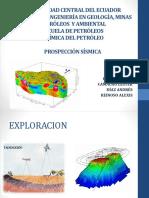 prospeccion sismica