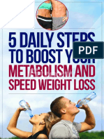 5 Daily Steps to Boost Your Metabolism Report Final