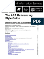 APA Referencing Guide