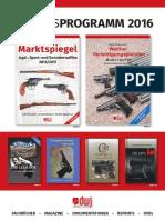 Deutsches Waffen Journal Verlagsprogramm 2015-2016