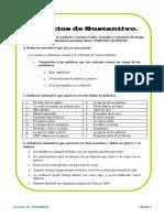 Actividades y Fichas-ejercicios Español