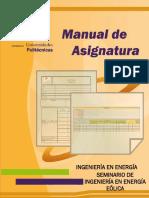 Seminario de Ing. en Energía Eólica
