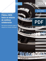 Administración Pública 2020- hacia un entorno de continua colaboración