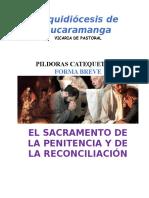 1. Forma Breve Pildoras Sacramento de La Reconciliación