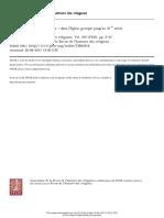 La doctrine de la deification dans l'Église grecque jusqu'au XIe siècle