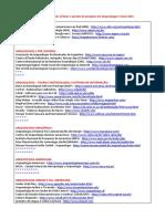 Bases de Dados, Redes Virtuais e Portais de Pesquisa Em Arqueologia e Áreas Afins