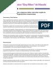 Rubros que una empresa debe cancelar según la legislación ecuatoriana