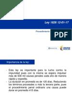 Presentación Ley 1826