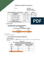 Diseño de Mezcla Concreto f'c = 420 kg/cm2