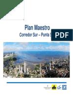 Plan Maestro Corredor Sur 2014