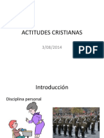 ACTITUDES CRISTIANAS