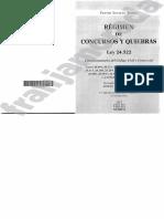 Ley Concursos y Quiebras ROUILLON 2016