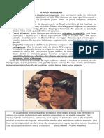 Cartaz Povo Brasileiro