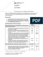 Lesson Plan Writing FCE