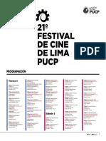 21º FESTIVAL DE CINE DE LIMA