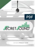 2014 Secret Sound Product Guide