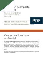 Evaluación de Impacto Ambiental Linea Base