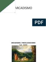 arcadismo RESUMÃO
