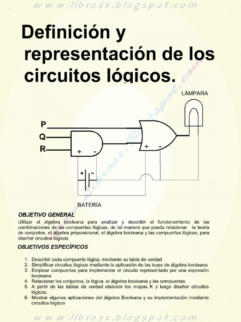 Circuito Logico Definicion : Definicion y representacion de los circuitos logicos