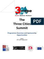 Sponsorship Packages 3CitiesSummit v1.2