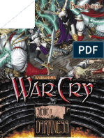 WarCry CCG - Binder Cover Dark Elf