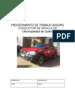 Pts Conductor de Vehiculos