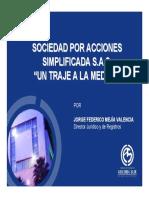 Sociedad Por Acciones Simplificada Traje a La Medida 2010 (1)