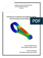 Apostila MEF (Método dos Elementos Finitos) Utilizando ANSYS - Prof. Pedro Manuel (CEFET-RJ).pdf