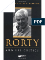 Brandom - Rorty and His Critics (Blackwell, 2000) 431p