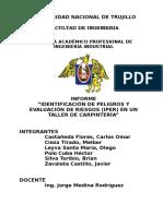 Informe IPER Taller de Carpintería - GRUPO 04.doc