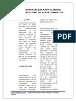 Procedimiento Para Dar Ajuste Al Tren de Valvulas e Inyectores%5b1%5d Isx