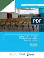 Ejemplos de Preguntas Saber 9 Lenguaje 2012 v3