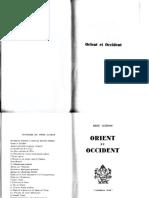 Guénon René - Orient et Occident.pdf