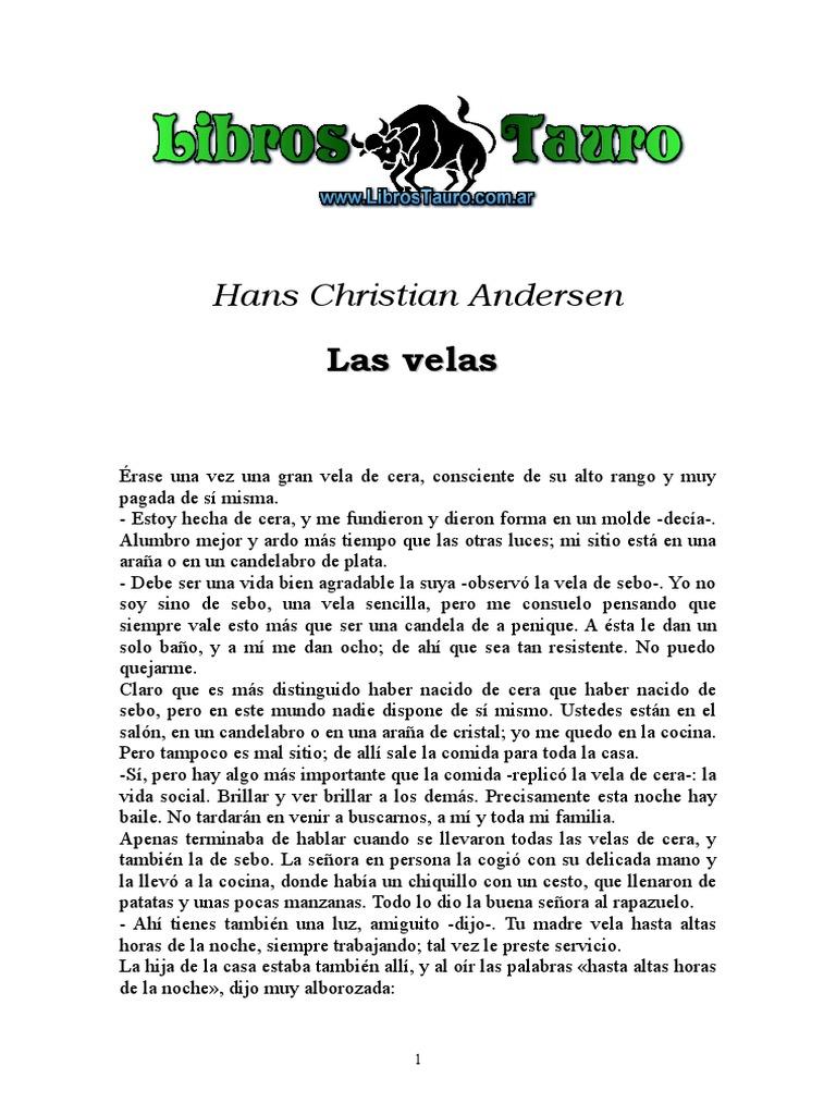 verkkosivusto alennus 100% laatu hyvä istuvuus Hans Christian Andersen - Las velas.doc
