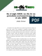 Verne, Julio - En El Siglo XXIX, Un Dia De Un Periodista Norteamericano En El Año 2889.doc