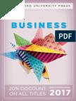 Business 2017 Catalog