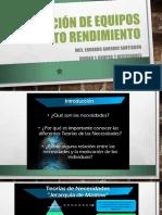 Dirección de Equipos de Alto Rendimiento Diapositiva