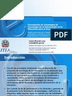 Carlos Miranda ,EstrategiasTIC, Rep. Dom.