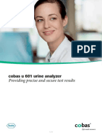 Cobas u 601 Urine Analyzer Brochure