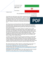 Position Paper Iran