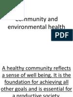 Health 9 Community and Environmental Health