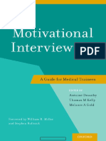 Motivational Interviewing a Guide for Medical Trainees 1st Edition