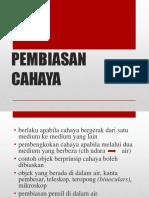 PEMBIASAN CAHAYA