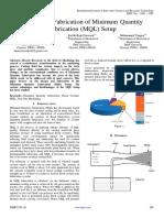 Design and Fabrication of Minimum Quantity Lubrication (1)