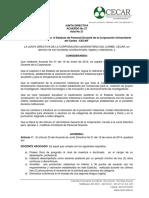 Acuerdos Junta Directiva N° 27 de 2015. Modificación Estatuto Personal Docente - CECAR (1) (1)