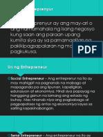 Ano Ang Entreprenyur