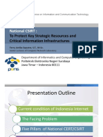 To Protect Key Strategic Resources and Critical Information Infrastructures
