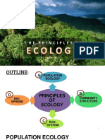 Ppt 10 Principles of Ecology 1