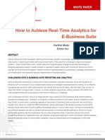 Real Time Analytics for EBS Systems White Paper V1