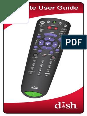 DISH+3 4-4 4+Remote+User+Guide | Menu (Computing